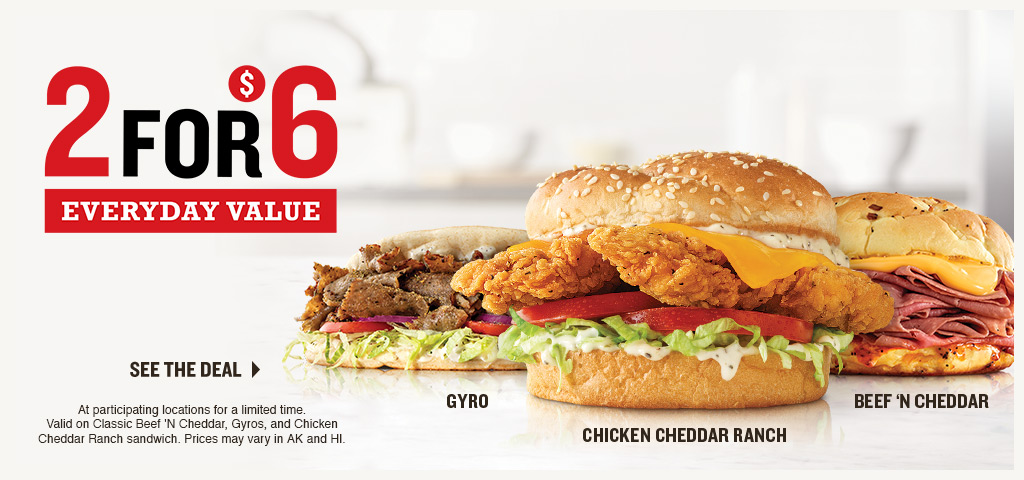 2 for $6 Everyday Value