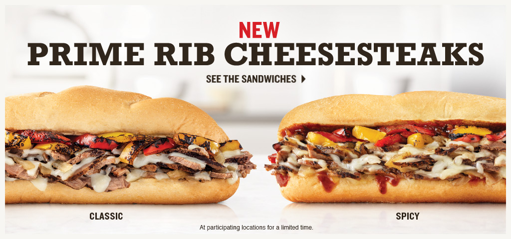 New Prime Rib Cheesesteaks