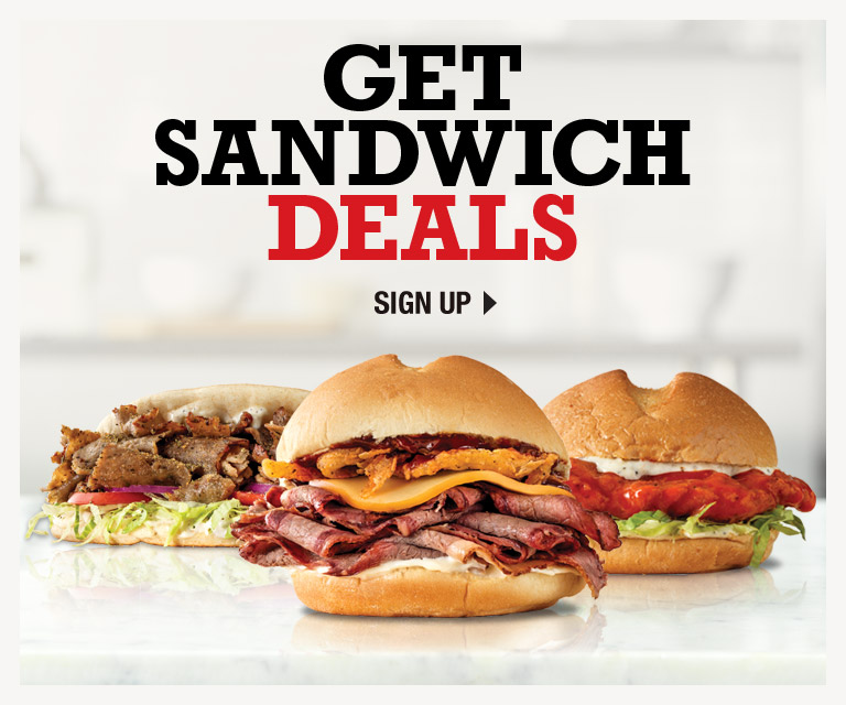 picture about Printable Arbys Coupons called Arbys We Consist of The Meats®