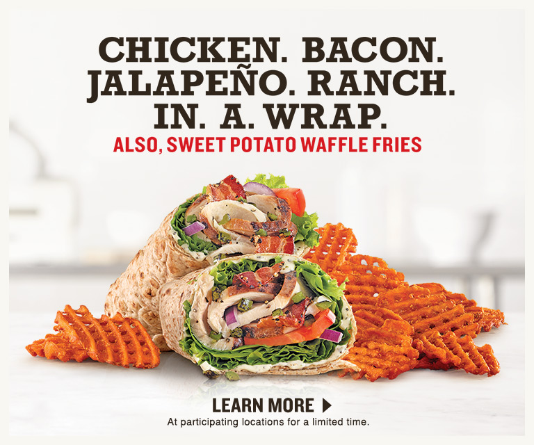 Chicken Bacon Jalapeno Ranch In A Wrap