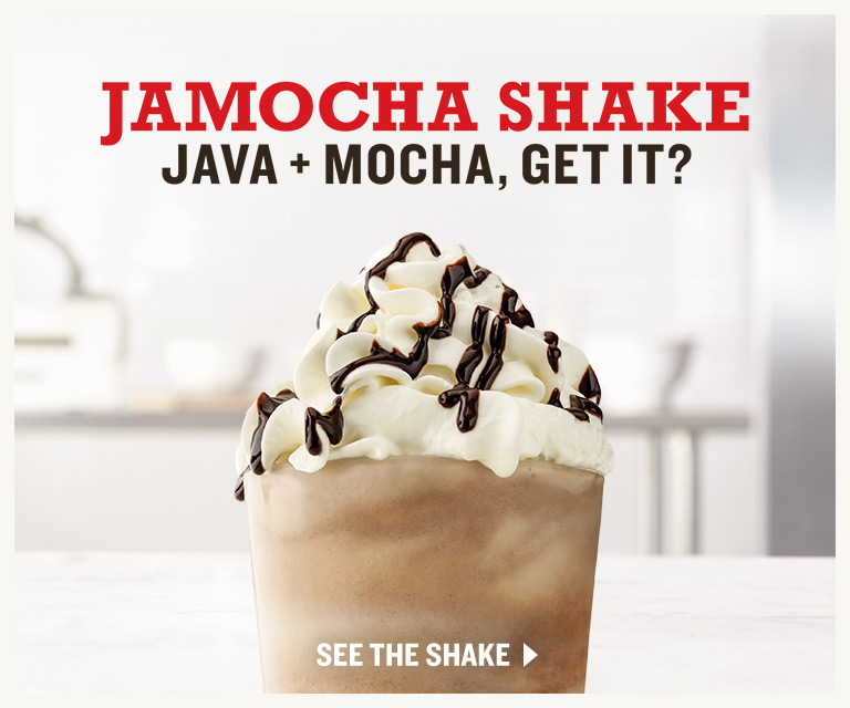 Jamocha Shake. Java + Mocha, Get It?
