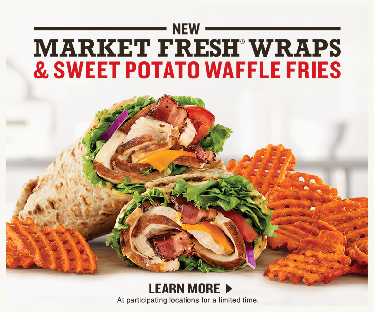 New Market Fresh Wraps and Sweet Potato Waffle Fries