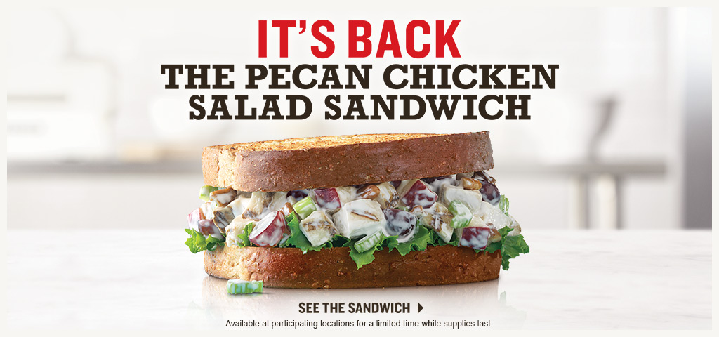 The Pecan Chicken Salad Sandwich