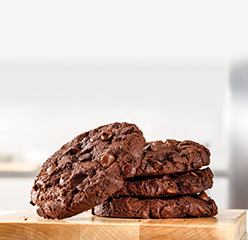 You Might Also Like: Triple Chocolate Cookie