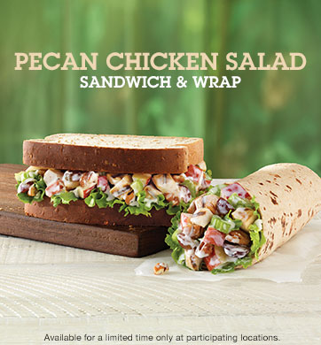 Pecan Chicken Salad Sandwich/Wrap