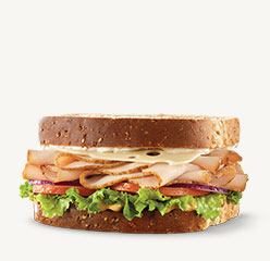 Go to Roast Turkey & Swiss Sandwich