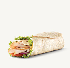 Go to Roast Turkey & Swiss Wrap