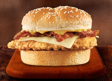 Chicken Bacon Swiss Sandwich
