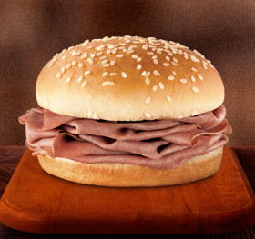 Kids Jr Roast Beef Sandwich