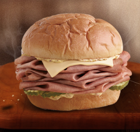 KING'S HAWAIIAN® Roast Beef & Swiss Sandwich