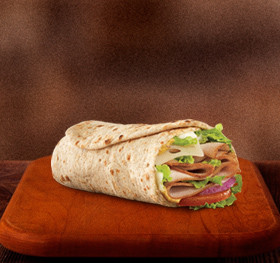 Roast Turkey & Swiss Wrap