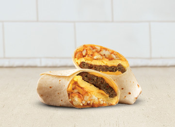 Sausage Egg & Cheese Wrap