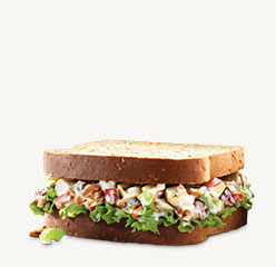 Pecan Chicken Salad Sandwich