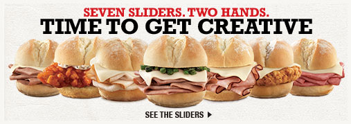 Seven sliders. Two hands.Time to get creative - Seven sliders. Two hands.Time to get creative