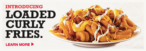 Loaded Curly Fries. - Introducing Loaded Curly Fries.