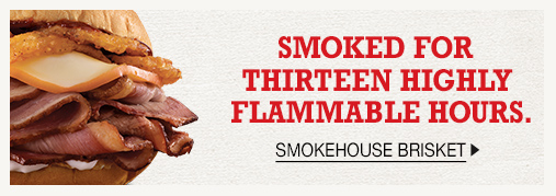 Smokehouse Brisket - Smoked for thirteen highly flammable hours